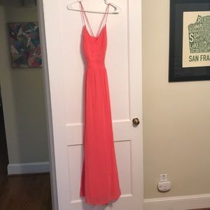 Dresses & Skirts - Peach Prom Dress